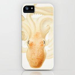 Peachy Keen Octopus Circa 1898 iPhone Case