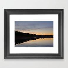 Assynt Reflections Framed Art Print