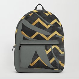 Tropical and golden VI Backpack
