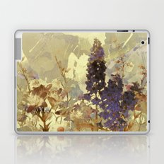 floral on beige Laptop & iPad Skin