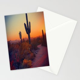 A Cactus Grows In Phoenix Stationery Cards