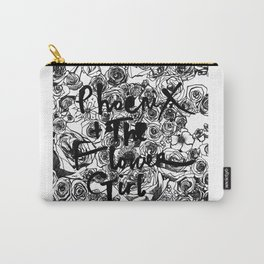 """PHOENIX AND THE FLOWER GIRL """"THE FLOWER GARDEN"""" PRINT Carry-All Pouch"""