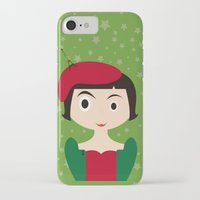 amelie iPhone & iPod Cases featuring Amelie by Creo tu mundo