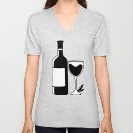 Wine Lovers Unisex V-Neck