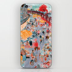 Columbia Road Flower Market iPhone & iPod Skin