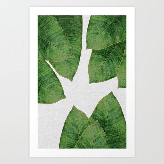 Banana Leaf I by paperpixelprints