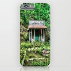 Abandoned Barber Shop iPhone 6s Slim Case