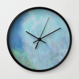 Minimal Cliff - 遠望 series - oil-paint Wall Clock