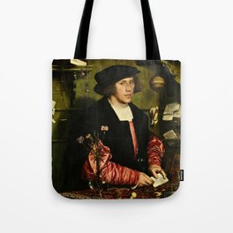 Hans Holbein  - Portrait of Georg Giese Tote Bag