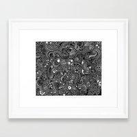 trip Framed Art Prints featuring Trip by Hugo F G