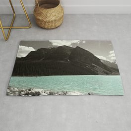 Lake Louise Blue Beauty Rug