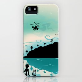 Island discovery iPhone Case