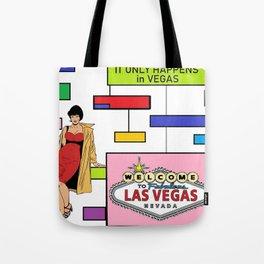Las Vegas is Retro Tote Bag