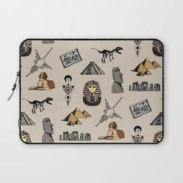 Dark Archeo pattern Laptop Sleeve