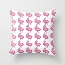 Dodo Birds Throw Pillow