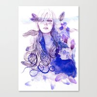 nausicaa Canvas Prints featuring Nausicaa by Sarah Bochaton