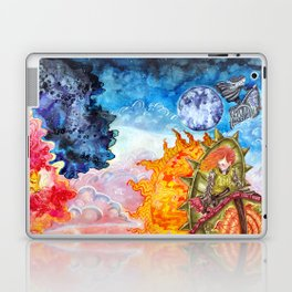 The tale of the sun and moon Laptop & iPad Skin