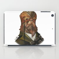 chewbacca iPad Cases featuring Sir Chewbacca by theMAINsketch