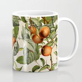 Vintage Fruit Pattern Coffee Mug