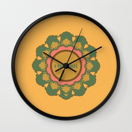 O'Doily Rules Wall Clock