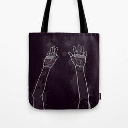 Look Mum No Hands! Tote Bag