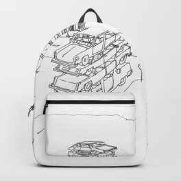 we are at a crossroads Backpack