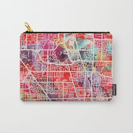 Glenview map Illinois IL 2 Carry-All Pouch