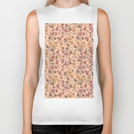 beach tea rose Biker Tank