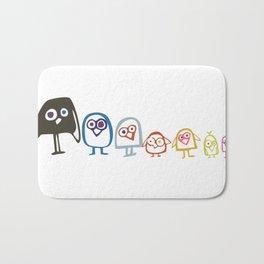 Art Print Home Decor Children Nursery Baby Infant Wall Graphic Design Angry Birds Color Pyramid Bath Mat