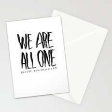 WE ARE ALL ONE 2 Stationery Cards