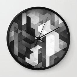 scope 2 (monochrome series) Wall Clock