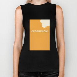 Creamsicle (First Bite) Biker Tank