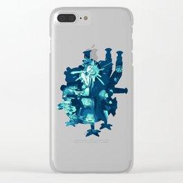 Howl's Fallen Star Clear iPhone Case