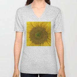 Heart of a Sunflower Unisex V-Neck