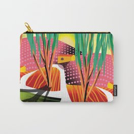 Sunset Curve Carry-All Pouch