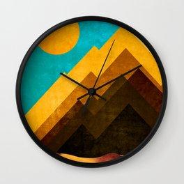 DESERT XOX Wall Clock