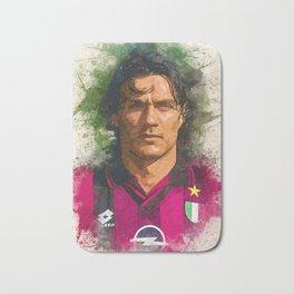 Paolo Maldini Portrait Bath Mat
