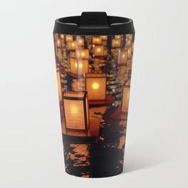 Japanese floating lantern Travel Mug