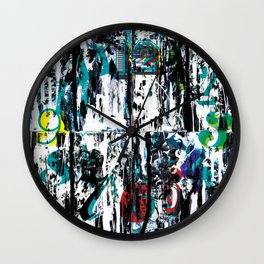 Two Same Opponents Wall Clock