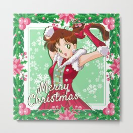 Merry Xmas Makoto! Metal Print