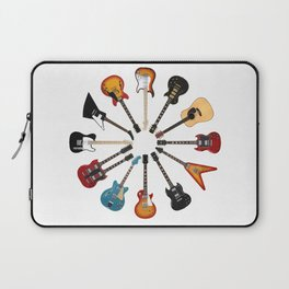 Guitar Circle Laptop Sleeve