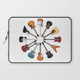 Guitar Circle Laptop Sleeve