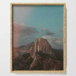 Yosemite Half Dome Serving Tray