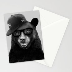 Dope Bear Stationery Cards