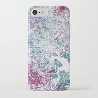 baltimore iPhone & iPod Cases featuring Baltimore by MapMapMaps.Watercolors