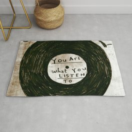 you are what you listen to, GRUNGE Rug