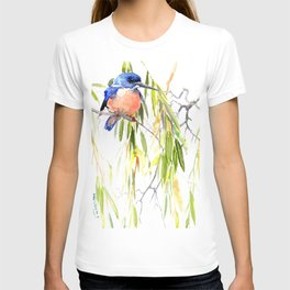 KIngfisher and Weeping Willow T-shirt