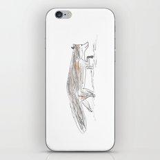 Winter fox in the snow iPhone & iPod Skin