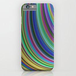 Striped fantasy iPhone Case