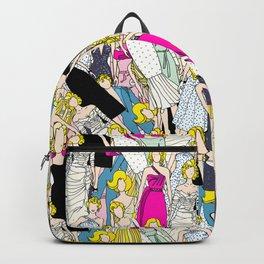 Blonde Diamonds Floral Backpack